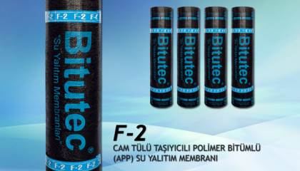 Bitutec F-2 Fibrocam Bitümlü Su Yalıtım Membranı